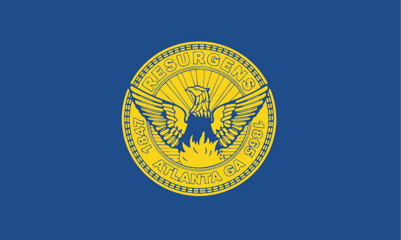 Image result for atlanta flag