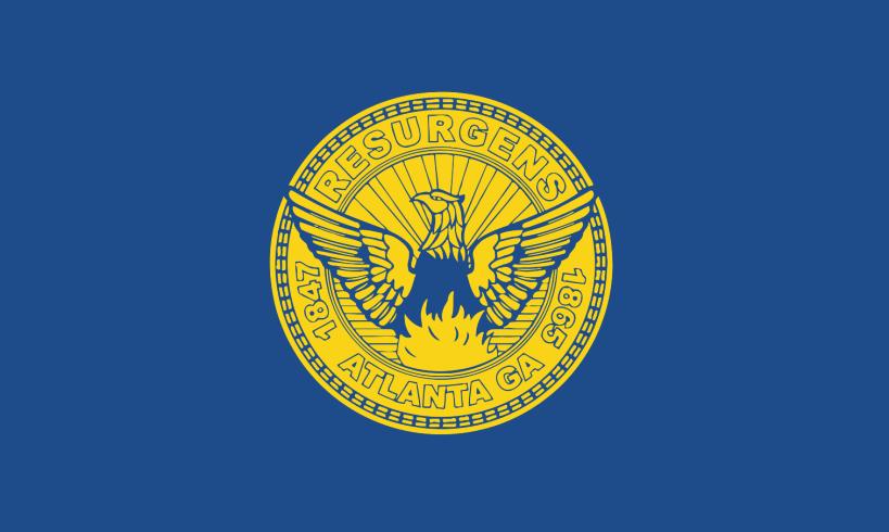 Image result for atlanta flag
